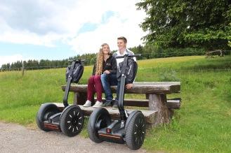 Segway Tour im Schwarzwald - Schluchsee